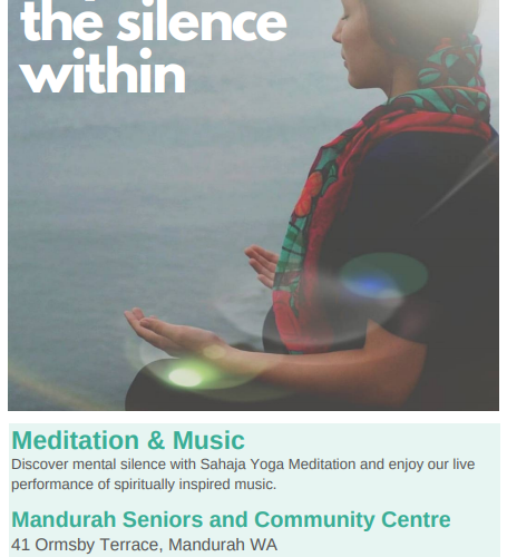 Free Event Meditation and Music Workshop