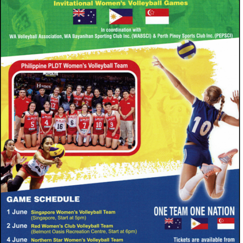 International Women's Volleyball Competition